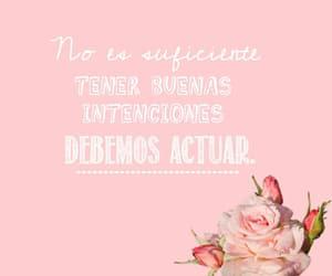 flores, rosa, and frases en español image