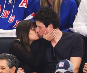 cory monteith and lea michele image
