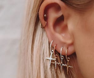 accessories, closet, and earrings image