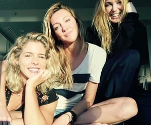DC, katie cassidy, and caity lotz image