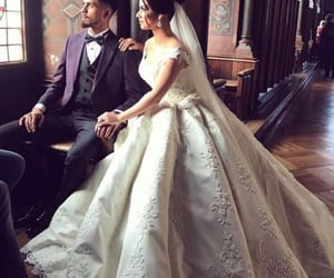 amour, robe, and mariage image