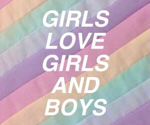bisexual, gay, and quote image