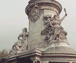 france, paris, and republique image