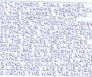 arctic monkeys, florence and the machine, and joy division image