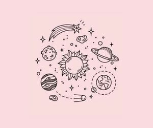 pink, wallpaper, and space image