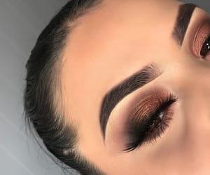 eyebrows, makeup, and art image