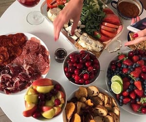 food, fruit, and cherry image