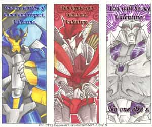 knockout, transformers, and valentine image