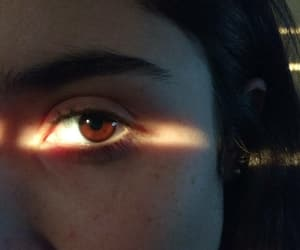 eyes, girl, and vintage image