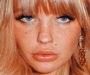 vintage, blonde, and face image