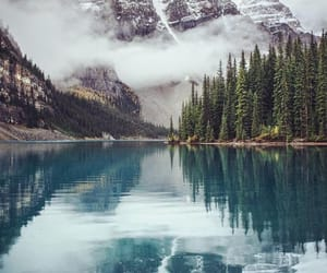 lake, travel, and mountains image
