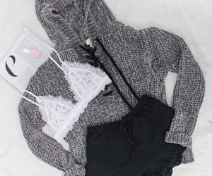 style, fashion, and gray image