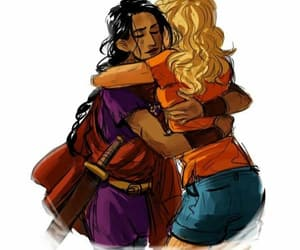 Reyna and annabeth chase image