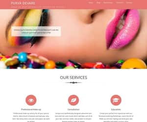 beauty, business, and website image