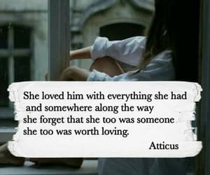 atticus, quotes, and love image
