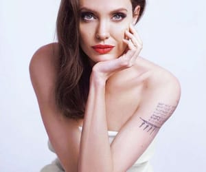 Angelina Jolie, lips, and picturesque image