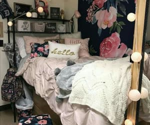 decor, bedroom, and home image
