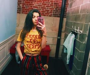 brunette, dressing room, and girls image