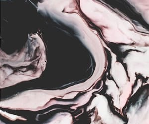 marble, black, and pink image