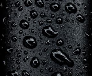 wallpaper, black, and water image