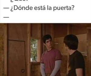 meme, door, and frases image