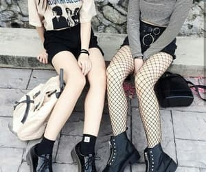 black, goth, and gothic image