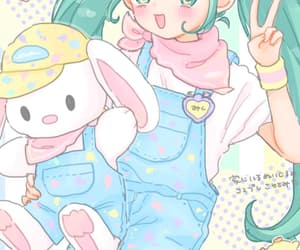 cartoon, cute baby, and drawing image