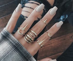 fancy, rings, and girl image