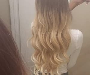 beauty, wavy, and perfect image