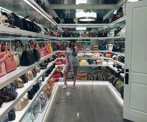 kylie jenner, bag, and closet image
