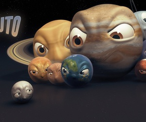 pluto, planet, and earth image