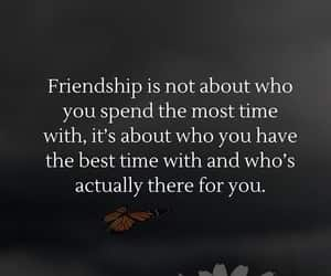 friend, friendship, and quote image