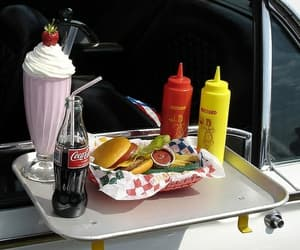 food, vintage, and lunch image