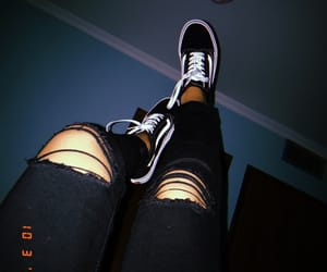 night, tumblr, and vans image