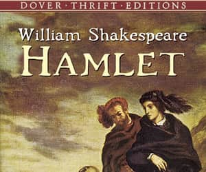 book, play, and Hamlet image
