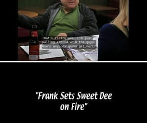 sweet dee, danny devito, and frank reynolds image
