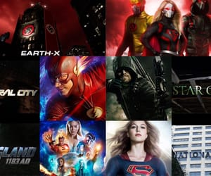 arrow, the flash, and kara zor-el image
