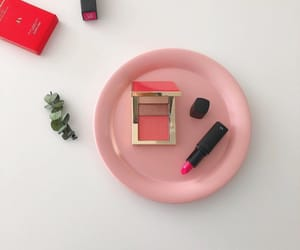 make up, pink, and tumblr image