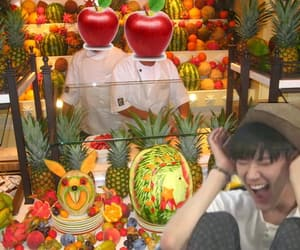apple, asian, and chittaphon image