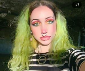 alt model, makeup, and alternative girl image