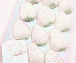 strawberry, aesthetic, and pastel image