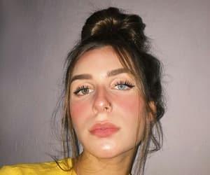 eyes, girls, and heterochromia image