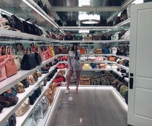kylie jenner, closet, and bag image