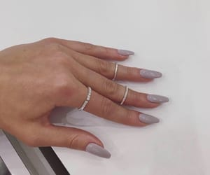 nails, purple, and violet image