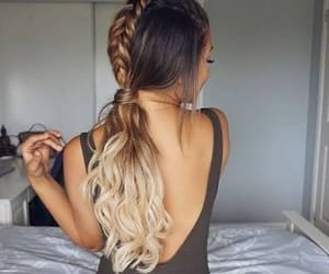 hair, hairstyles, and cabello image