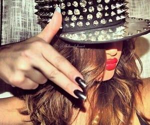 selena gomez, swag, and nails image