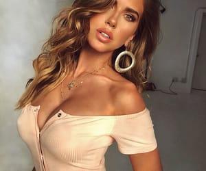 beautiful, makeup, and model image