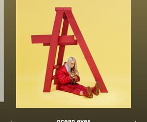 aesthetic, billie eilish, and red image