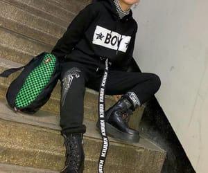 alternative, asian fashion, and dark image