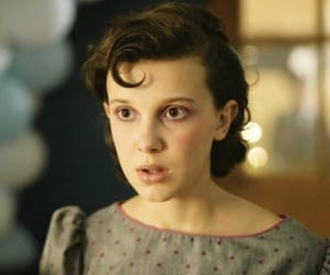 stranger things, millie bobby brown, and mileven image